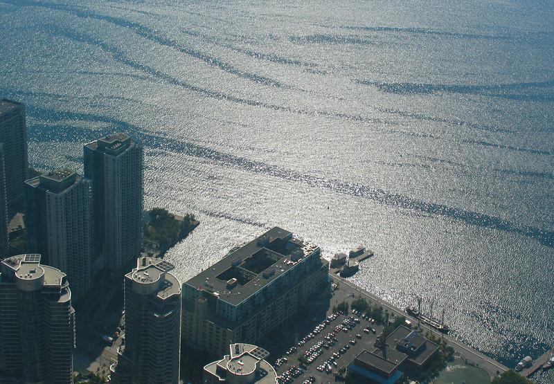 The shore of Lake Ontario