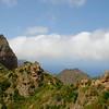 Roque Cano near Vallehermoso (La Gomera)