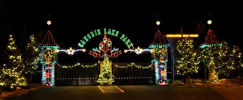 Canobie Lake Park - Christmas