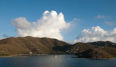 Arriving in Tortola