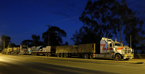 Sleeping Road Trains