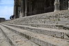 Paris 2013 - Tour of Chartres - Cathedral - Exterior - Close-up of Steps