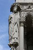 Paris 2013 - Tour of Chartres - Cathedral - Exterior - Carving 04