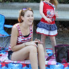 50th anniversary of Chelmsford's 4th of July celebration and parade. Caitlin Piekos and daughter Jadyn Kopec, 5, of Londonderry, N.H. (SUN/Julia Malakie)