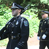 50th anniversary of Chelmsford's 4th of July celebration and parade. Chelmsford Police march in parade. (SUN/Julia Malakie)