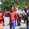 Superheros march in 50th anniversary of Chelmsford's 4th of July celebration and parade. (SUN/Julia Malakie)