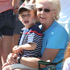 50th anniversary of Chelmsford's 4th of July celebration and parade. Jane Ryder and grandson Ryder Swett, 4, both of Lowell. (SUN/Julia Malakie)