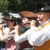 50th anniversary of Chelmsford's 4th of July celebration and paradel. Lexington Minute Men march in parade. (SUN/Julia Malakie)