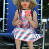 Chelmsford 4th of July parade. Emily Feldeisen, 3, of Chelmsford. (SUN/Julia Malakie)