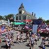 Chelmsford 4th of July parade. Chelmsford Pop Warner football.  (SUN/Julia Malakie)