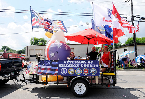 Don Knight | The Herald Bulletin<br /> Chesterfield's Fourth of July parade on Wednesday.
