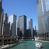 Downtown Chicago from the Chicago River