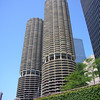 Chicago's Corn Cobs - the  bottom 10 layers are the building's car parks