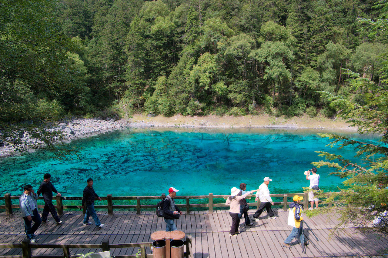 20090824_1045_2890 Five-colour pool, also known as Jade Pool.