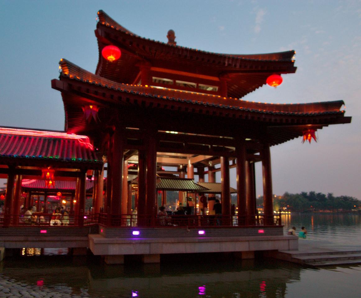 20090815_2051_2800 彩霞亭 Pink(/rosy) cloud pavilion