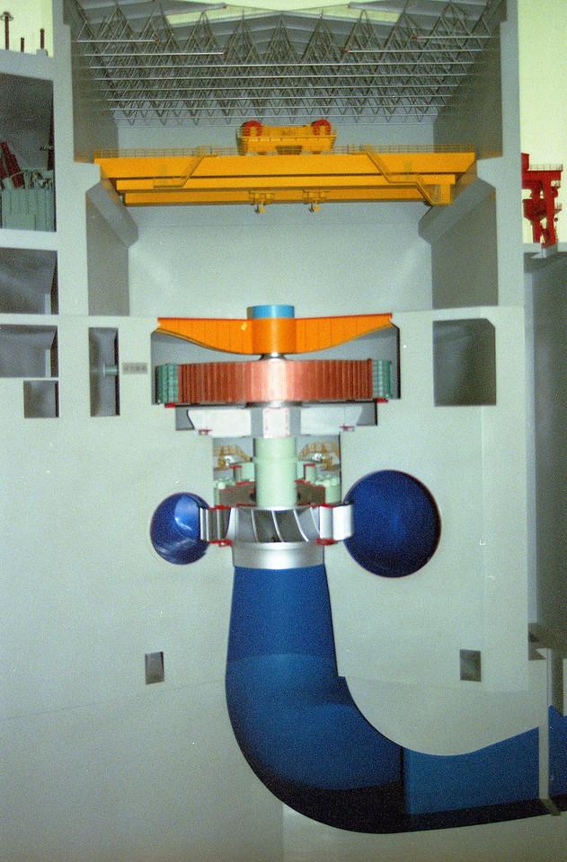 20070831_13_12 Model of Three Gorges Dam turbine