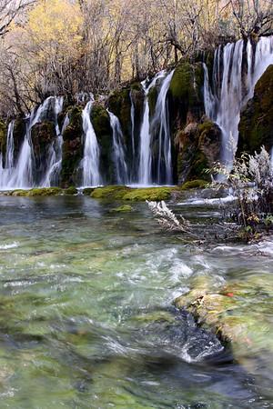 Sichuan - Jiuzhaigou Geopark -Arrow Bamboo Falls 7