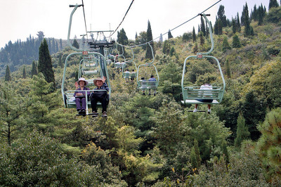 20080922_0045 Chairlift to the Dragon Gate