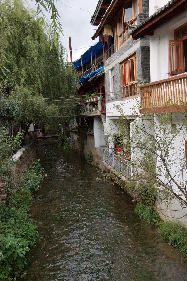 20080927_1832 Looking north from the NanMen Qiao (bridge)