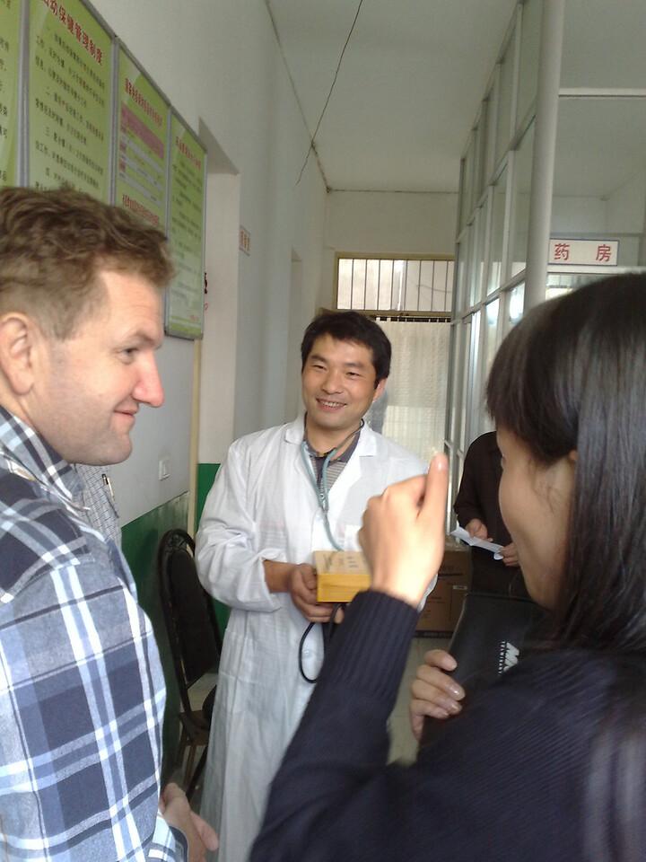 20081010_188 Dr Sam, Dr Cao and (I think) Sherry