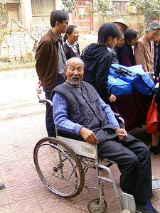 20081010_741 This gentleman has had a stroke earlier...