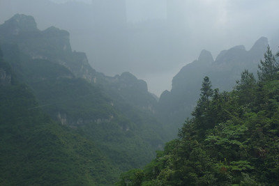 Tianmen Mountain 天门山