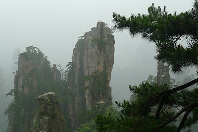 Tianzi Shan 天子山 and Zhangjiajie 张家界
