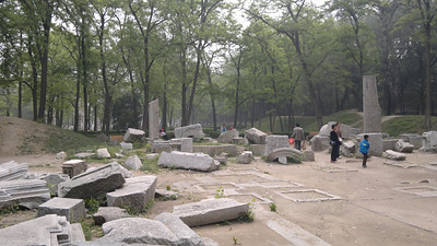 20120513_1045_030 圆明园. Old Summer Palace. The more interesting northern border of the north-east section (this part isn't so interesting, though)