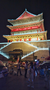 20130514_2125_0176 Drum Tower, Xi'an. Looks brighter every year...!