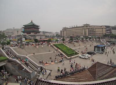 20140816_1800_2715 (AEST) Clock Tower (ZhongLou 钟楼),  Xi'an