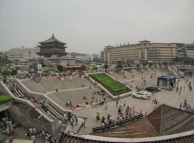 20140816_1800_2715 (AEST) Clock Tower (ZhongLou 钟楼),  Xi'an