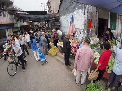 20150913_0846_1803 Sunday morning markets, inside the city wall of Xi'an