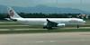 Dragonair Airbus A330 B-HLB taxiing for a departure to Hong Kong at Fuzhou Changle International Airport.<br /> 21 June 2012