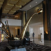 Reception sculpture at Langham Place Hotel, Beijing.<br /> 22 June 2012
