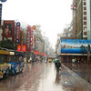 This is Nanjing Lu in Shanghai - famous for shopping