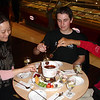 We found the chain Haagen Dazs was everywhere in Shanghai, and we couldn't resist a chocolate fondue!