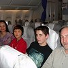 The Air China flight to Shanghai - the great adventure begins!