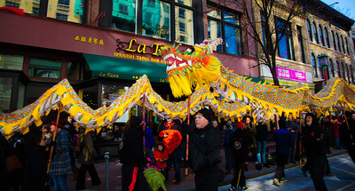Chinese New Year Parade in Washington D.C.