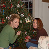 06' - It was a tradition for the family to decorate the Christmas tree together each year. We would always collect Christmas ornaments from each family vacation or of special places we visited.We all found it fun to bring a particular ornament out of the box and recall the vacation or place that we had visited together. Casey and Brett also made ornaments as early as nursery school, many with their  school picture in the center. It was also special recalling those early days when they were little.