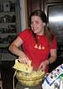 Christmas 2006, K makes mashed potatoes