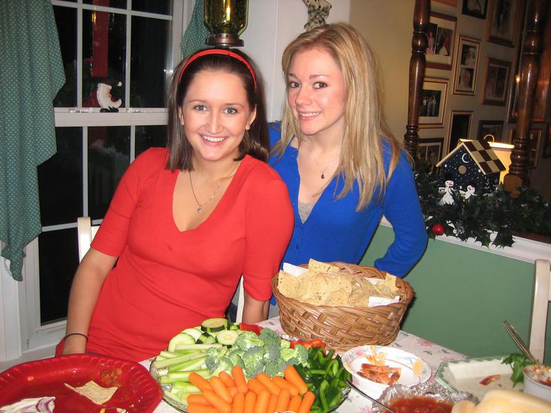 Casey & Cousin Jamie. 12-24-08