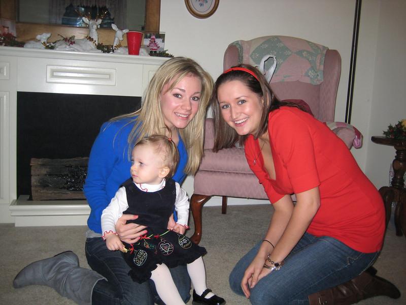 Casey, Cousin Jamie and Kadence.