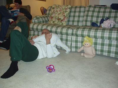 Katelyn and Grandpa Pa