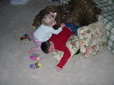 Evan and Katelyn Play