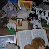 """Lamb in the role of Baby Jesus in the """"Creature Nativity Scene""""<br /> Christmas 2008"""