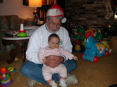 Grandpa elf and Christina
