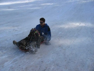 Dec 26 - Sledding in the Sandias