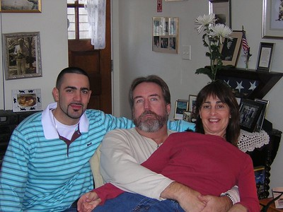 Barry, Rich and Jo
