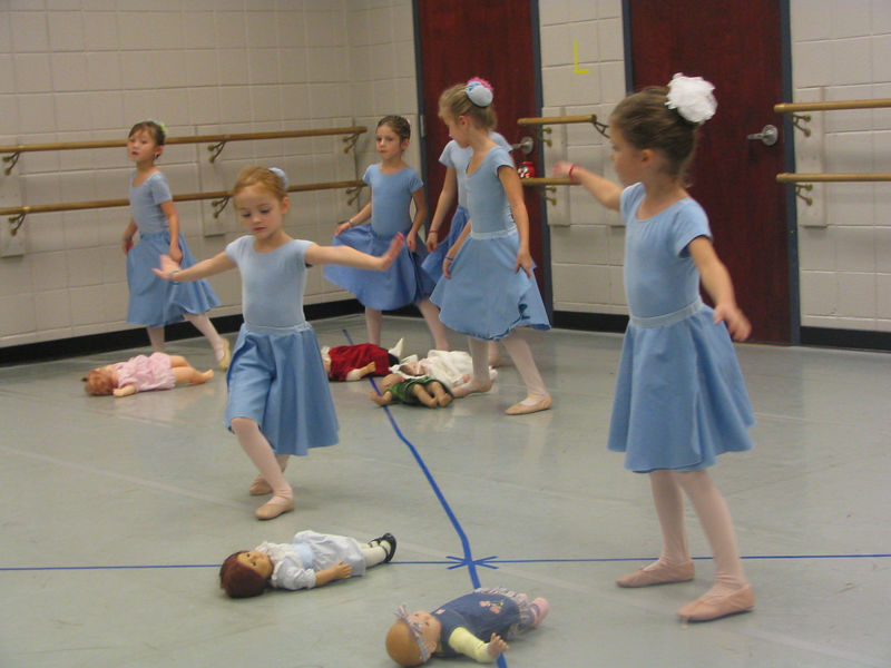 Caroline did a performance from the Nutcracker for us.  She was so graceful!  We are very proud of her.