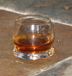 A glass of good scotch